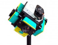 Крепление Yi plastic housing 6 cameras 360H6