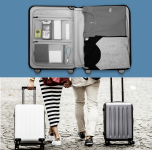 Чемодан RunMi 90 Points Suitcase Moonlight White 24""