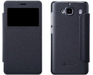 Кожаный чехол книжка Nillkin Sparkle Series для Xiaomi Redmi 2 Black SP-LC XM