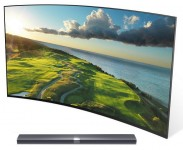 "Телевизор Xiaomi Mi TV 3S 65"" SMART 4K CURVED with Soundbar"
