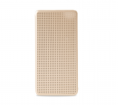 Чехол книжка Xiaomi Smart lattice type Gold 1163500014
