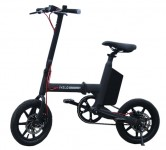 Велосипед UMA iVELO-M1 Intelligent Foldable Electric Bicycle Black