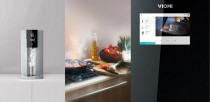Умный холодильник Viomi Smart Refrigerator iLive Four Door Voice version Gray