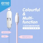 Кабель EMiE Charging cable Sugar AC12 Silver