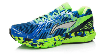 Кроссовки Xiaomi x Li-Ning Smart Running Shoes Blue/Green 46 ARHK081-1
