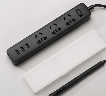 Удлинитель Mi Power Strip 3 розетки и 3 USB порта Black