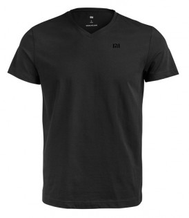 Футболка Mi V-neck T-shirt men Black XL 1151400027