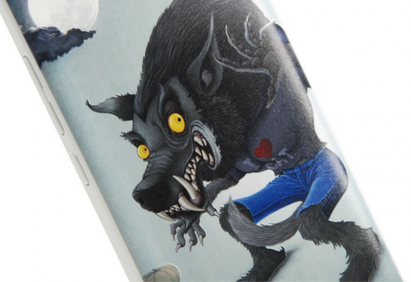 Чехол бампер Xiaomi Redmi Note 2 Cartoon series 3D Werewolf ORIGINAL 1154800037