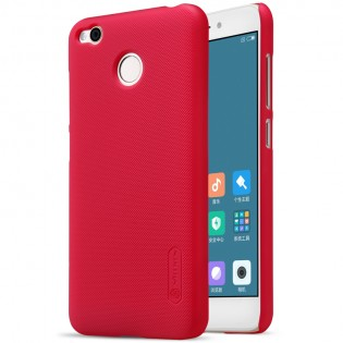 Чехол бампер Nillkin Frosted Shield XIAOMI RedMi 4X Red F-HC REDMI 4X