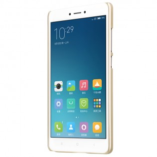 Чехол-бампер Nillkin Frosted Shield XIAOMI RedMi Note 4X Gold F-HC HM-NOTE 4X