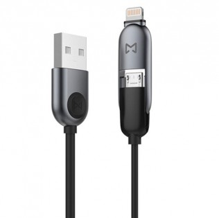 Кабель EMiE Charging cable Sugar AC13 Gray