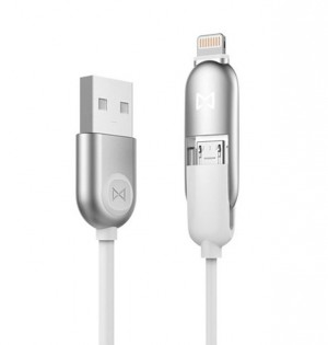 Кабель EMiE Charging cable Sugar AC13 Silver