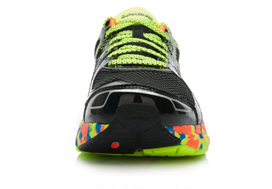 Кроссовки Xiaomi x Li-Ning Smart Running Shoes Black/Green 45 ARHK081-2