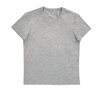 Футболка Mi V-neck short sleeve Gray XXL 1170800043