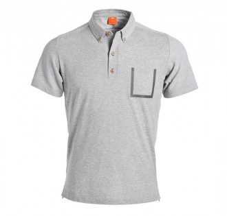 Футболка-поло Mi function short sleeve Polo shirt men Light Grey M 1170800056