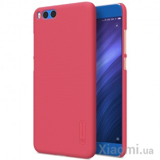 Чехол бампер Nillkin Frosted Shield Xiaomi Mi Note 3 Red F-HC XM-NOTE 3