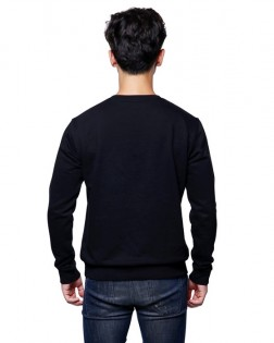 Реглан Mi Round neck sweater Black M 1163300013