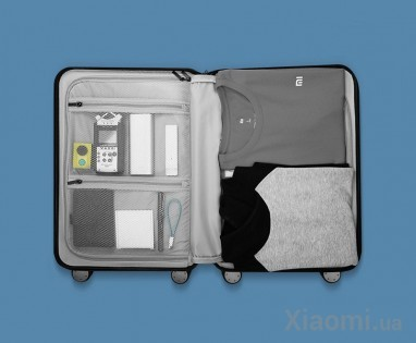 Чемодан RunMi 90 Points suitcase Maсaron Green 20""
