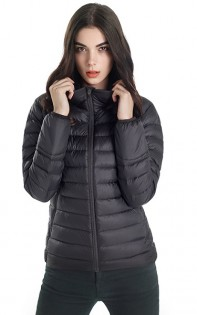 Куртка RunMi 90 points Feather coat Woman Black XL