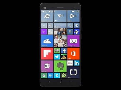 Смартфон Xiaomi Mi4 2/16 Gb Black Windows 10 EDGE 2G интернет