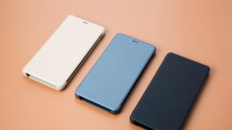 Чехол книжка для Xiaomi Redmi 4 Blue