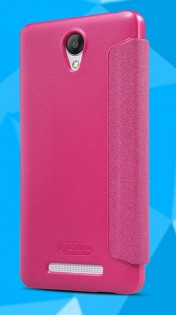 Чехол-книжка Nillkin Leather case Redmi Note Red