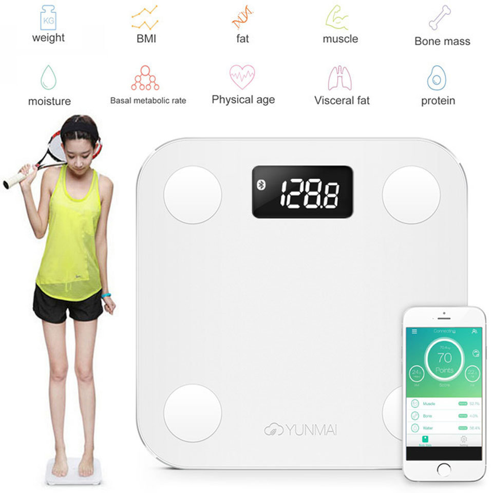 YUNMAI mini Smart Scale приложение