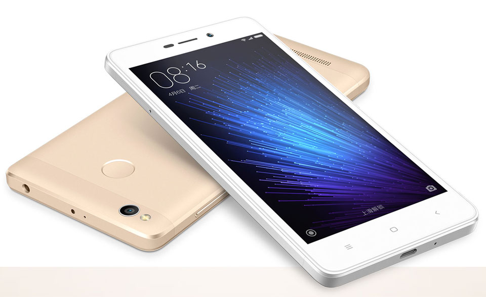 Смартфон Xiaomi Redmi 3X 2/32 Gb Gold