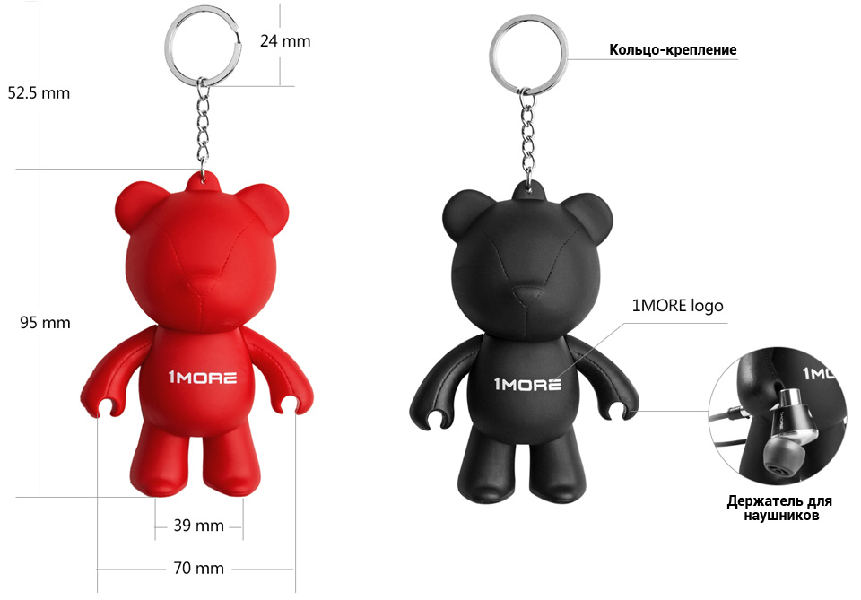 Брелок 1MORE Bear Earphone Stand характеристики