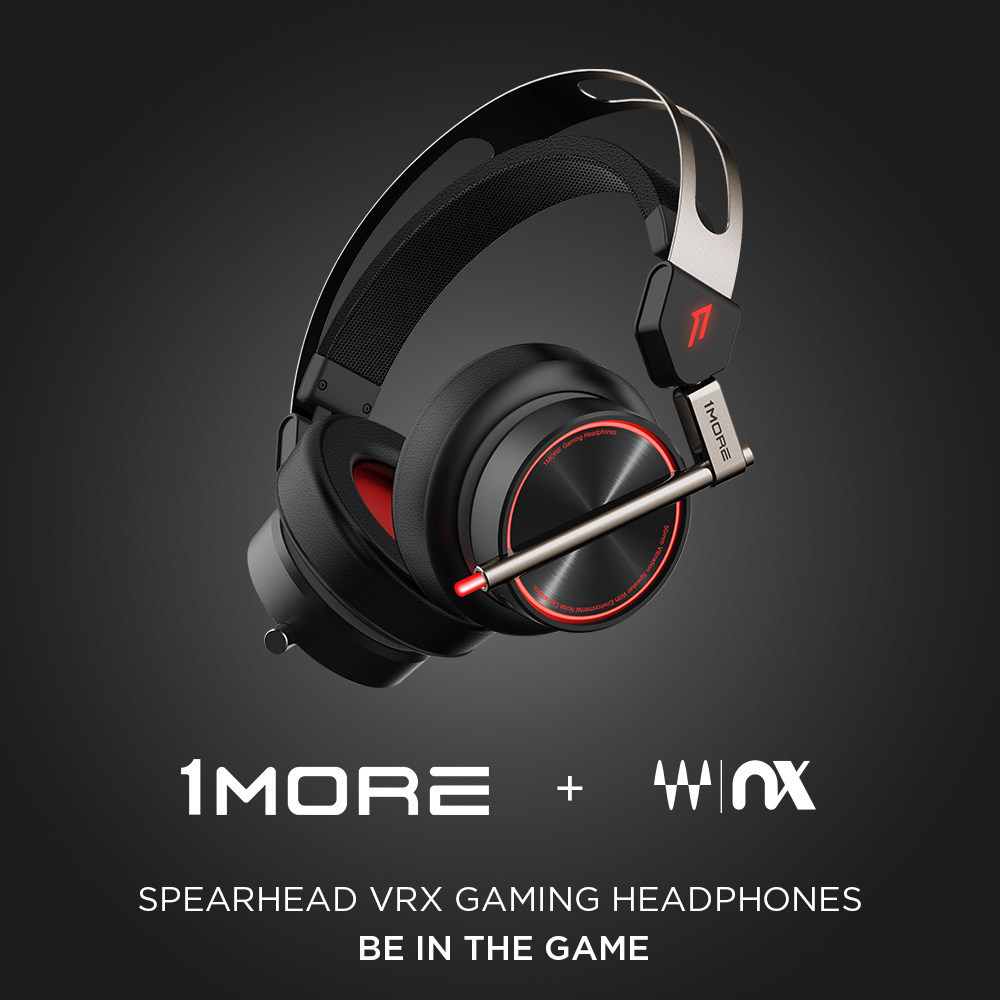 1MORE Spearhead VR Gaming Headset игровые наушники