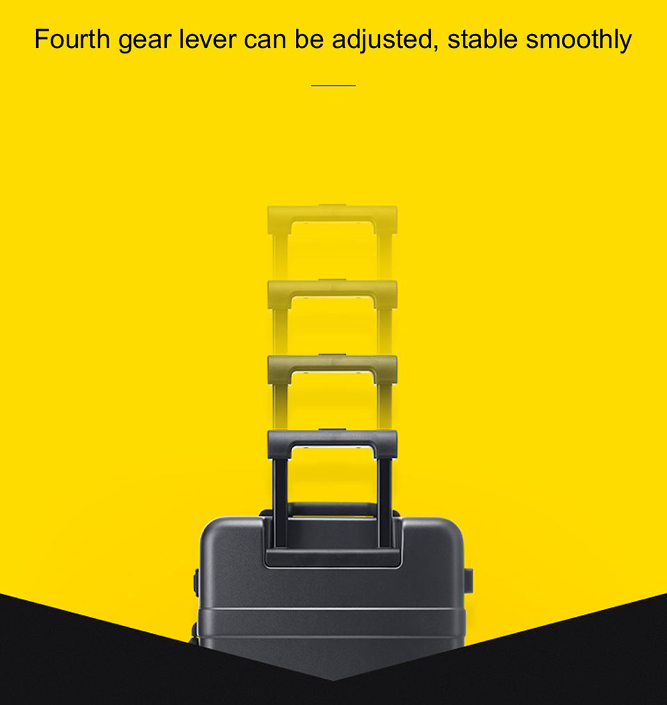 90 points classic aluminum box suitcase ручка