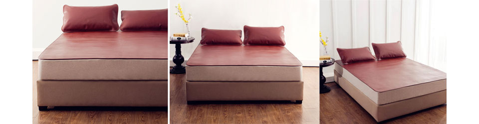 Комплект для кровати Bedding+ Top Layer Buffalo Leather Set 1.8