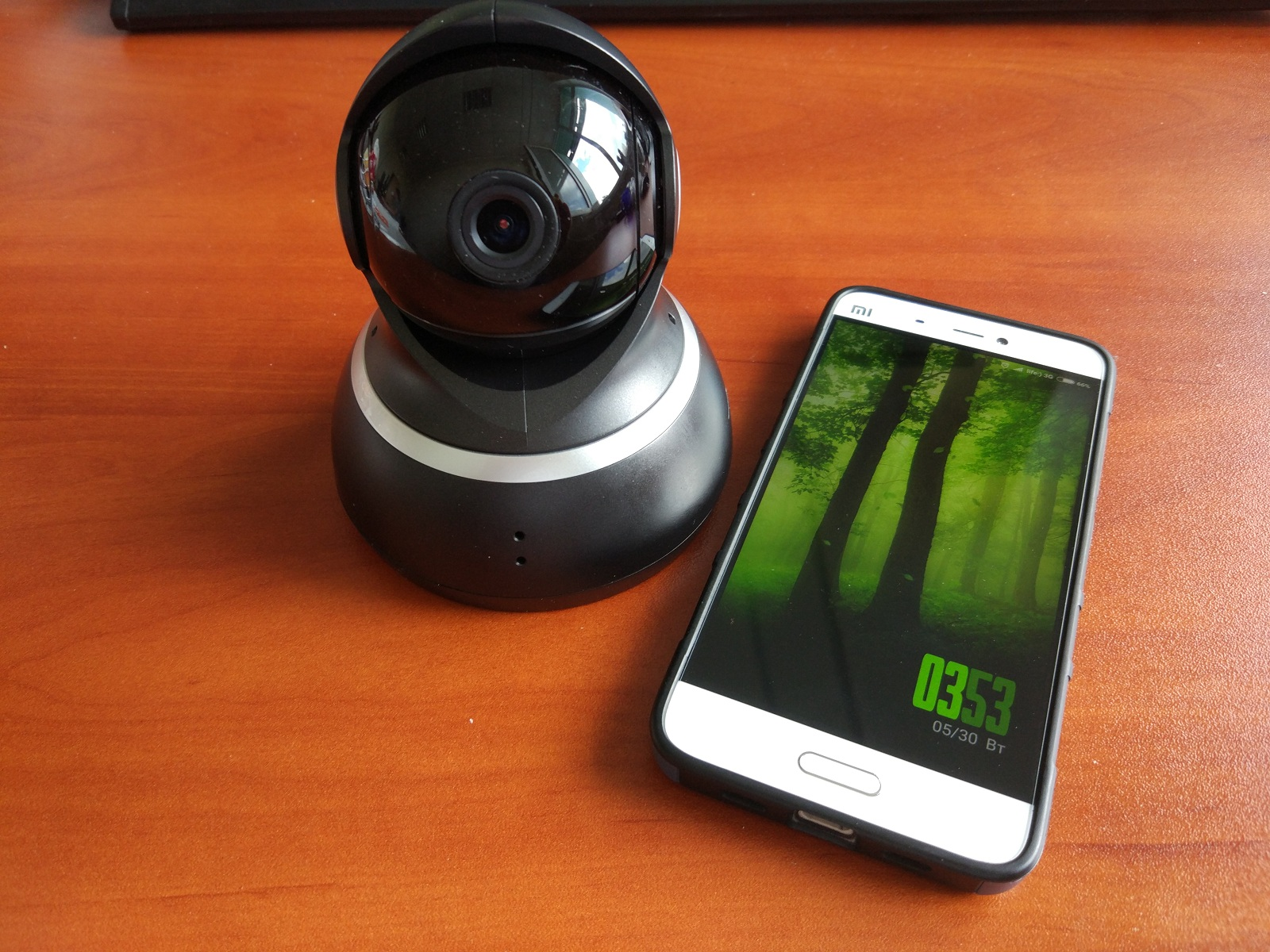 YI Dome 360° Black 1080P IP-Камера
