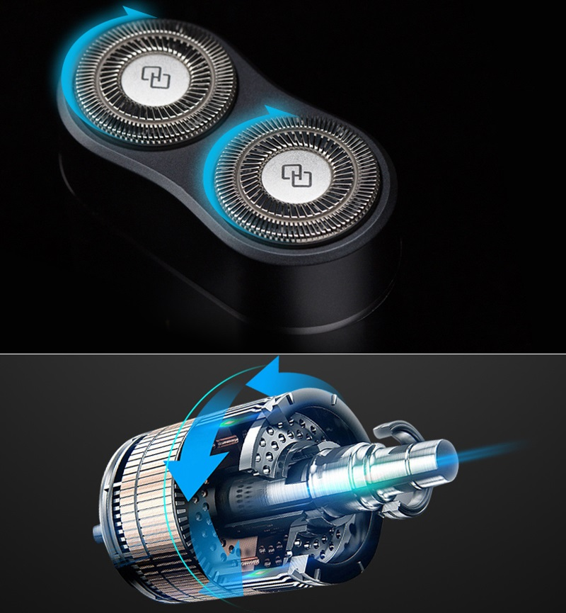 Электробритва Handx Portable Electric Shaver Black YTS100 мощный двигатель