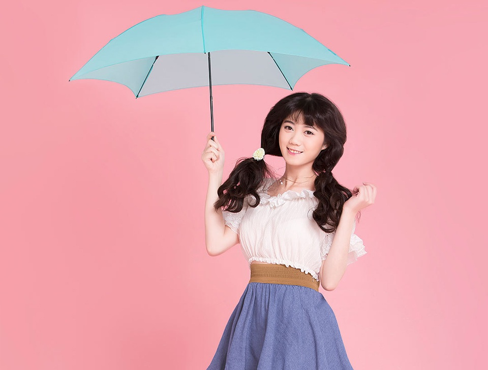 Huayang Ultra-Light Umbrella в применении