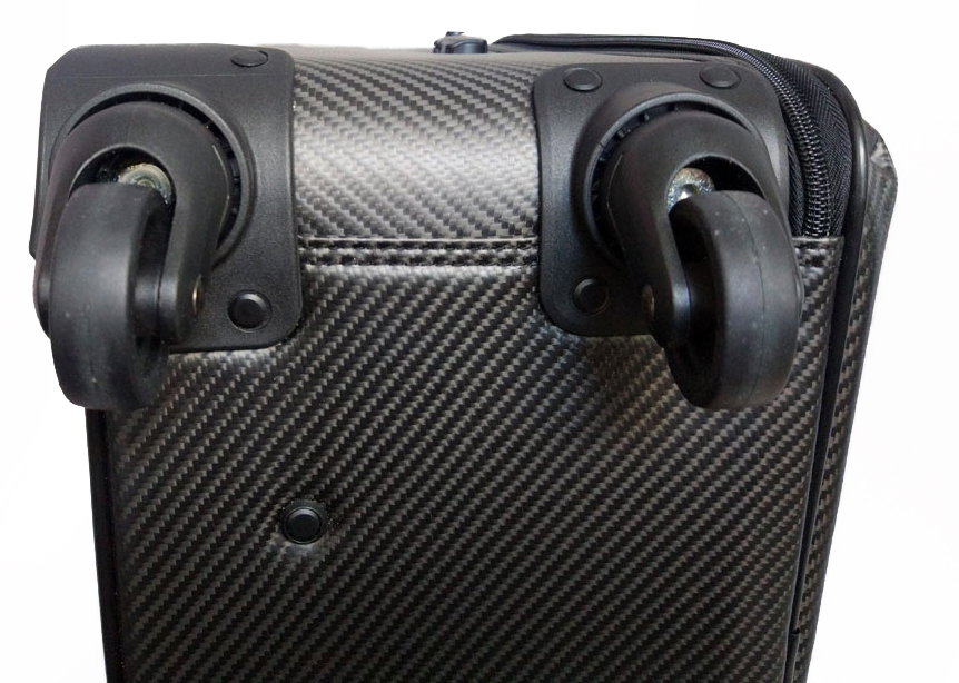 Чемодан Karbonn Fiber Luggage+Leathe колеса