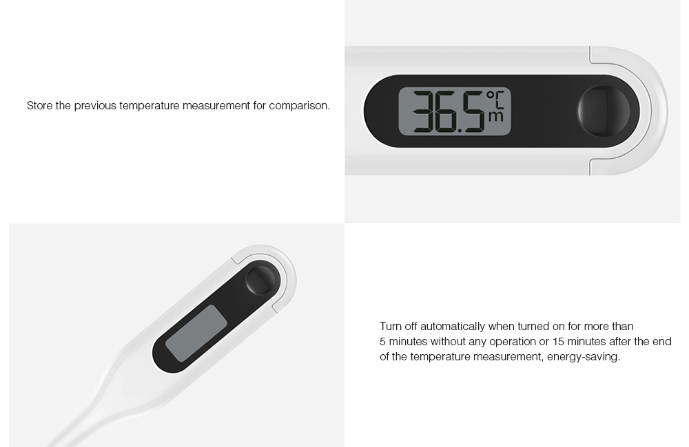 ZenMeasure Medical electric Thermometre  конструкция