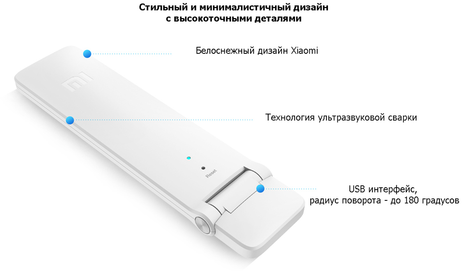 Mi WiFi Amplifier 2 дизайн