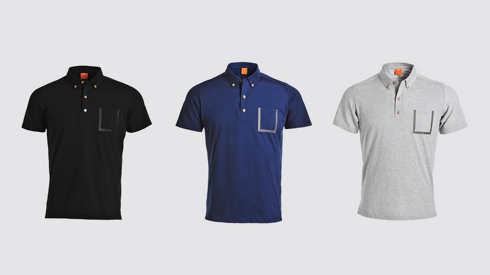Mi function short sleeve Polo shirt men