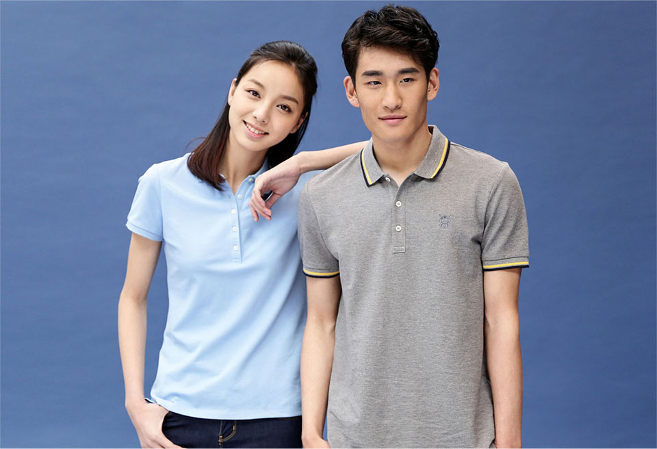 Mi solid POLO Shirt Women Blue общий вид