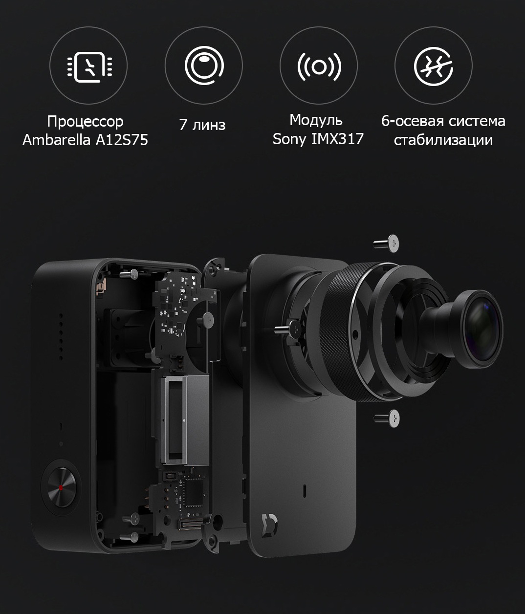 MiJia 4K Small Camera инновации
