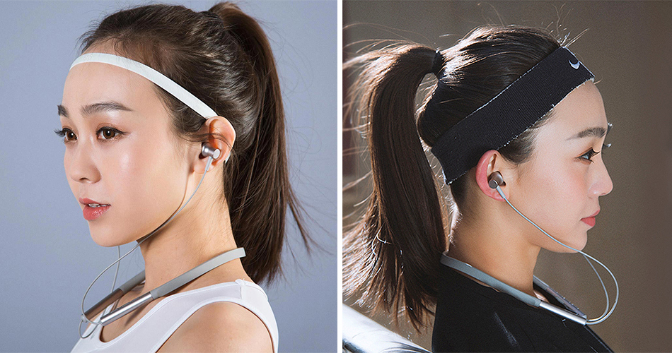 Mi Bluetooth Neckband Earphones удобные наушники