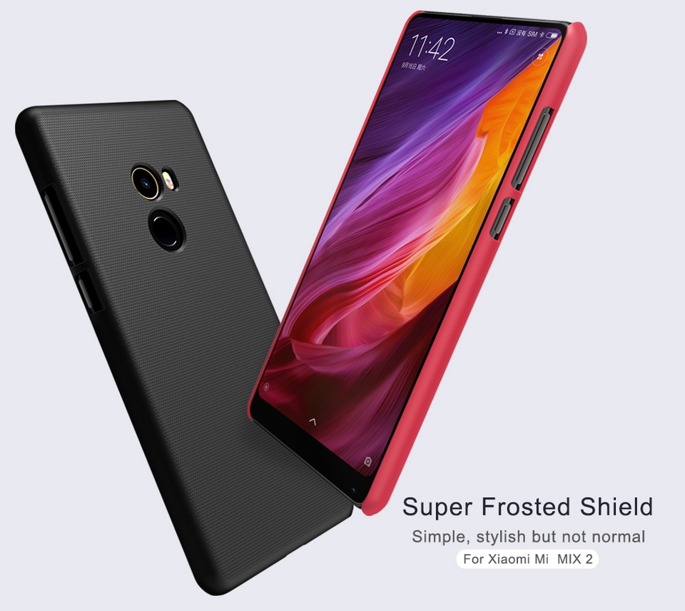 Nillkin-Frosted-Shield-Xiaomi-Mi-Mix-2-White-F-HC XM-MIX-2