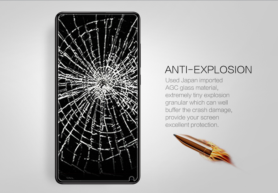Закаленное стекло Nillkin for XIAOMI Mi MIX 2 H+PRO Anti-Explosion Glass H+PRO-SP XM-MIX 2 ударная стойкость