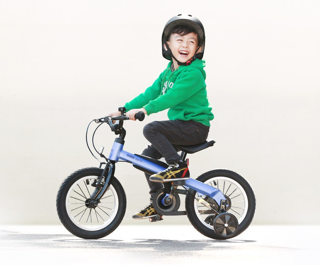 "Велосипед Ninebot Kids Bike Red 14"" for boys крупным планом"
