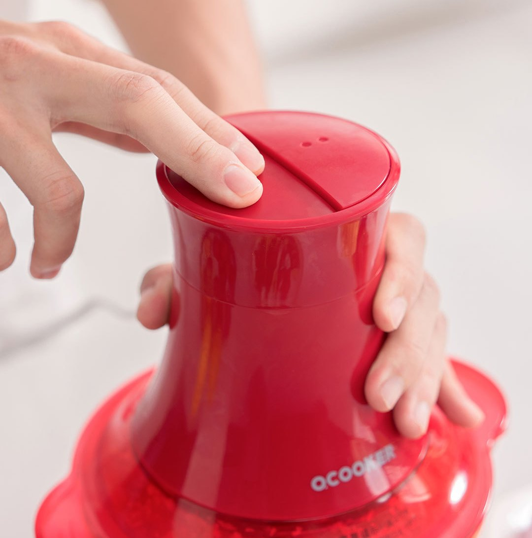 O'COOKER-Small-Grinder-Red