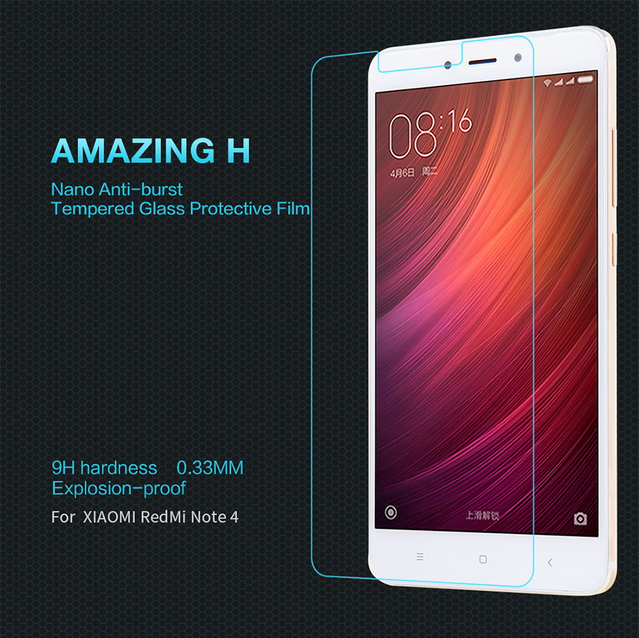 Nillkin H Anti-Explosion Glass Screen HG-SP HM-NOTE 4 основной