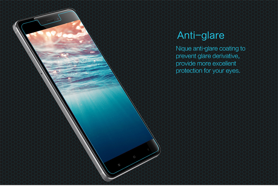 Nillkin H Anti-Explosion Glass Screen HG-SP HM-NOTE 4 антибликовый