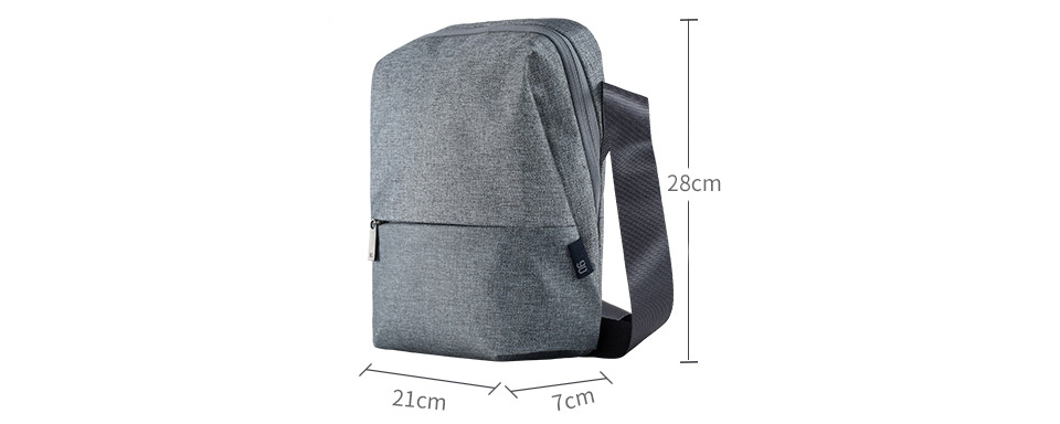 Сумка RunMi 90 Points Urban Simple Messenger Bag