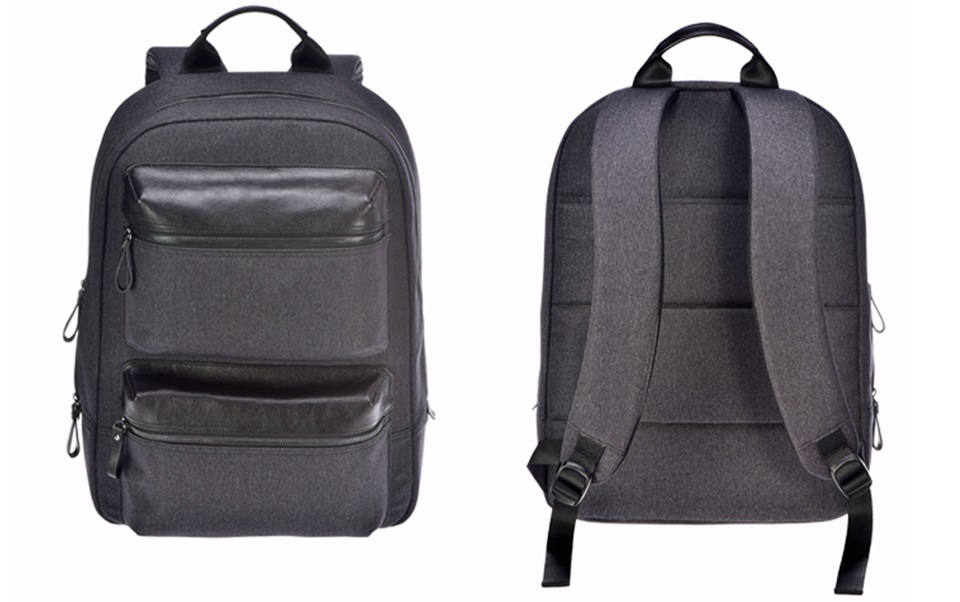 Рюкзак RunMi 90 Points Business Multi-function Backpack крупным планом